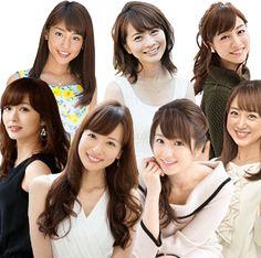 徳井さんも注目才色兼備の女子アナ集団セントフォースの実態