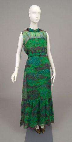 Ensemble    Hubert de Givenchy, 1971    The Philadelphia Museum of A