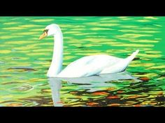 Art Lesson: How to Paint a Beautiful Swan using Acrylic paint - YouTube