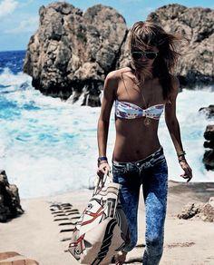 Beach bohemian. Xk #kellywearstler