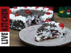 BLACK FOREST CAKE - Live Kitchen - YouTube Black Forest Cake, Kitchen Living, Ice Cream, Live, Youtube, Desserts, Recipes, Cakes, Food