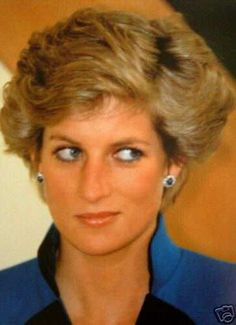 January 17, 1990: Princess Diana at the Chinese Arts Centre in Manchester.