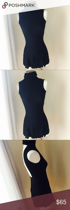 """Reformation low back dress Super cute clasp neck low back dress . 14.5"""" flat bust,11.25"""" flat waist , length is 28"""". Content is 43 rayon, 57 viscose . In excellent condition . No trades . Reformation Dresses Mini"""