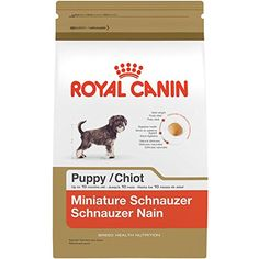 ROYAL CANIN BREED HEALTH NUTRITION Miniature Schnauzer Puppy dry dog food, 2.5-Pound @ You can read more at the image link. (This is an affiliate link and I receive a commission for the sales)