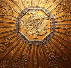 Bronze Elevator Door, (Originally) Selfridges, London   Edgar Brandt