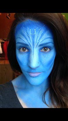 Avatar snazaroo face paint