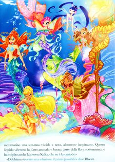 Winx Club As Mermaids | ... fanart screenshots stuffpoint winx club images pictures mermaids tweet
