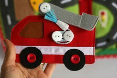 Fire station quiet busy book for boys, pretend play, развивающая книжка… Toddler Books, Childrens Books, Quiet Book Templates, Create This Book, Baby Quiet Book, Felt Quiet Books, Books For Boys, Busy Book, Book Activities