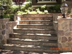 Image Search Results For Exterior Stone Stairs. Stone Entry Steps Country  Reno