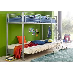 Metallbett Atlantic Home Collection, Bunk Beds, Furniture, Home Decor, Metal, Decoration Home, Loft Beds, Room Decor, Home Furnishings