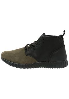 3d870c63cefe STAMFORD - High-top trainers - military black - Zalando.co.uk