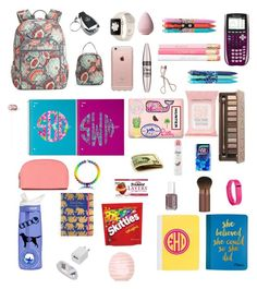 """5 MORE DAYS TILL SCHOOL IS OVER !!! "" by kennedy-amber on Polyvore featuring Vera Bradley, Lilly Pulitzer, Charlotte Tilbury, Incase, Urban Decay, Topshop, MICHAEL Michael Kors, Dove, CamelBak and Fitbit"