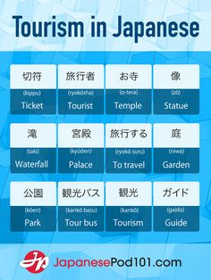 Wanna go on a trip to Japan? <3 Click through to download FREE Japanese cheat sheets pdfs for every topic, including travel and tourism! Totally FREE Japanese lessons online at JapanesePod101 - free podcasts, videos, printables, pdfs and more! We recommend Japanese Pod 101 to learn real Japanese, the way it's spoken today. Sign up for your free lifetime account and see how much you can learn in a week! #japanese #learnjapanese #nihongo #studyjapanese #languages #affiliate #ad