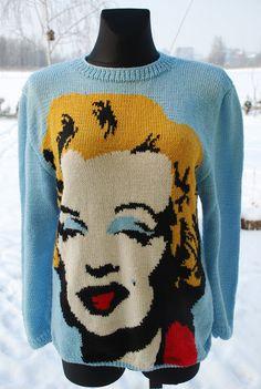 Bergamotka: Sweter z Marilyn Monroe