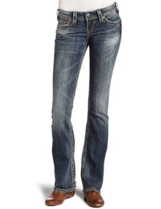 #Silver #Jeans Juniors Suki #Jeans   love silver jeans!   http://amzn.to/HgcNHh