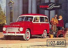 """I wanna go on vacation in a """"volvo duett""""! - Volvo Duett (1953–1969)"""