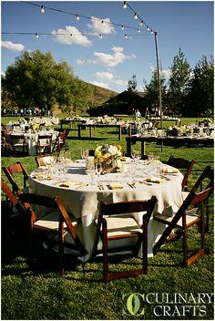 Rustic, elegant wedding.