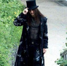 Punk Guys, Goth Guys, Goth Men, Steampunk Fashion, Gothic Fashion, Gothic Mode, Looks Dark, Beautiful Dark Art, Goth Beauty