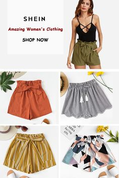 Amazing Women's Clothing Summer Outfits, Cute Outfits, Back To School Outfits, Summer Looks, Modest Fashion, Latest Fashion Trends, Amazing Women, Going Out, Women's Clothing