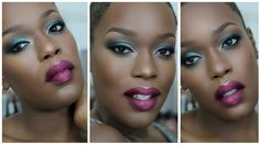 NEW! 2015 Colorful **FULL FACE** HOLIDAY Makeup for DARK SKIN