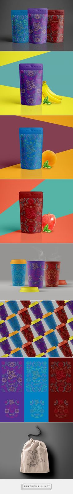Once Upon A Tea - Instant Aroma Tea - Packaging of the World - Creative Package Design Gallery - http://www.packagingoftheworld.com/2017/02/once-upon-tea-instant-aroma-tea.html