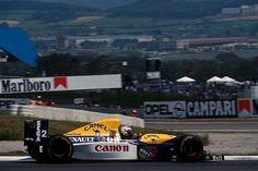 Alain Prost, Canon Williams-Renault FW15C, 1993 Spanish Grand Prix, Montmlo