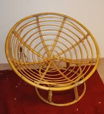 Circular Bamboo Chair Cushion Fold Out Bed Adults 21 Best Cane Outdoor Furniture Images Round Papasan Diy