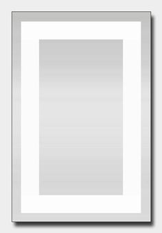 Quartz Backlit Mirror