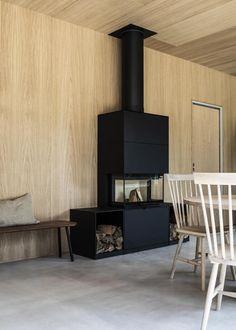 Tour a Modern, Warm and Minimal Scandinavian Home - Nordic Design Sweden House, How To Make Headboard, Italian Tiles, Interior Design Work, Scandinavian Living, Scandinavian Interiors, Modern Love, Nordic Design, Open Plan Kitchen