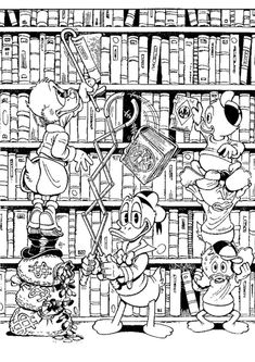 Uncle Scrooge McDuck, Donald Duck, Huey, Dewey And Louie Mickey Mouse Coloring Pages, Disney Coloring Pages, Animal Coloring Pages, Coloring Pages To Print, Coloring Sheets, Family Coloring Pages, School Coloring Pages, Coloring Book Pages, Printable Coloring Pages