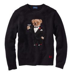 Polo Holiday Tuxedo Bear Wool Blend Sweater. Polo Ralf LaurenRalph  LaurenPolo RalphClassic ...