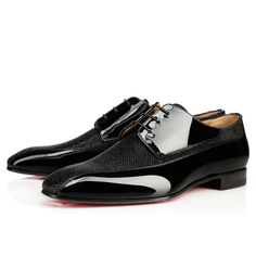 Christian Louboutin United States Official Online Boutique - Orleaness Flat Black Glitter available online. Discover more Men Shoes by Christian Louboutin Christian Louboutin Red Bottoms, Louboutin Online, Red Bottom Heels, Fashion Shoes, Mens Fashion, Derby Shoes, Black Glitter, Formal Shoes, Black Flats