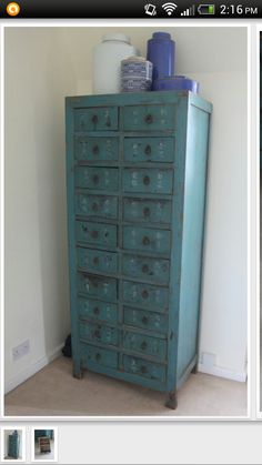 Chinese apothecary cabinet, love.