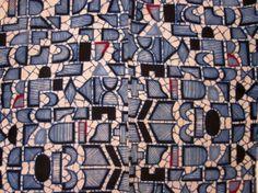 itajime yukata  - back detail  Daily Japanese Textile  IMG_9845