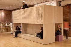 Werknemers van Airbnb richten zelf kantoor in en het resultaat is geweldig! - Roomed   roomed.nl