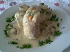 Rollo de pescado con salsa de pepita, receta de Linda Brockmann