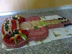 Food Design, Deli Platters, Sandwich Cake, Party Buffet, Food Decoration, Russian Recipes, Savoury Cake, Culinary Arts, Food Presentation