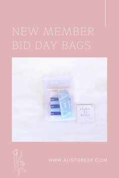 Celebrate your new members this recruitment with the Newbie Love bundle! Gift bag includes a sorority decal, hair tie set, and button set. Alpha Xi Delta Gift Bags | Alpha Xi Delta Bid Day | AXiD New Member Gifts | Alpha Xi Delta Recruitment | Sorority Bid Day | Sorority Recruitment | Bid Day Bags | Sorority New Member Gift Ideas #BidDayGifts #SororityRecruitment Alpha Epsilon Phi, Alpha Chi Omega, Sorority Bid Day, Sorority Recruitment, Bid Day Gifts, Alpha Sigma Alpha, Elastic Hair Ties, Tie Set, Gift Bags