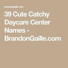 babysitting names ideas