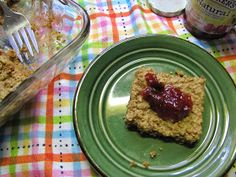 Natural and Free: Baked Peanut Butter Oatmeal (Soy, Wheat, Egg and Fish-Free, Can Be Milk and Nut-Free)