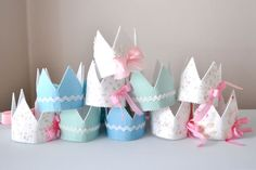 """For the tea party?  Could be a craft day for """"Chic Craft Corner Camp"""""""