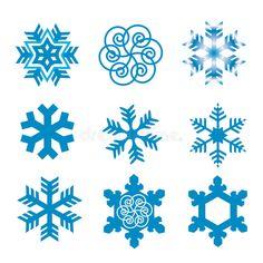 Illustration about Nine original vector snow-flakes. Illustration of flakes, snow, december - 6451426 How To Draw Snow, You Draw, Snow Vector, Snow Flake Tattoo, Snow Girl, Disney Frozen Elsa, Snowflake Designs, Doodle Designs, Little Tattoos