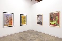 """Installation view of Merion Estes: """"Lost Horizons"""" at CB1 Gallery. . http://ift.tt/2iTReC6 . This exhibition features works on paper from a series that Merion Estes began creating in 2007 and continued through 2011. Estes' """"Lost Horizons"""" series gives pictorial form to vanishing natural domains and references Frank Capras 1937 film of the same name. In Capras romantic and nostalgic film Lost Horizons a group of travelers find Shangri-La a utopian society in the Himalayas. Merion Estes…"""