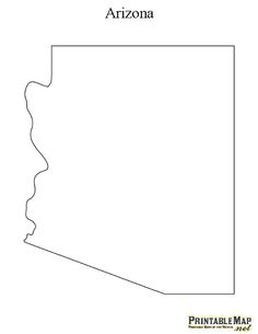 Arizona State Map Free.Pin By Muse Printables On Printable Patterns At Patternuniverse Com
