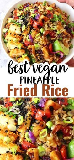 Vegan Dinner Recipes, Veggie Recipes, Whole Food Recipes, Cooking Recipes, Healthy Vegan Recipes, Veggie Dinners, Easy Vegan Dinner, Veggie Food, Paleo