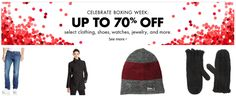 Amazon Canada Boxing Week Offers: Save up to 70% Off Clothing Shoes Watches Jewelry & More http://www.lavahotdeals.com/ca/cheap/amazon-canada-boxing-week-offers-save-70-clothing/157128?utm_source=pinterest&utm_medium=rss&utm_campaign=at_lavahotdeals