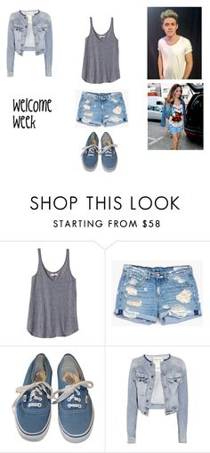 """25.1"" by ronniebenett ❤ liked on Polyvore featuring Rebecca Taylor, rag & bone/JEAN, Vans and TEXTILE Elizabeth and James"