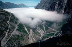 Cesta Trollov (Trollstigen), Nórsko