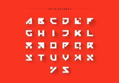 Grotesque typeface on Behance