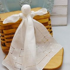 Hankie Doll Mom made us these during church when we were little to keep us quiet